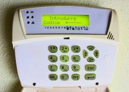 Centrale d'alarme filaire
