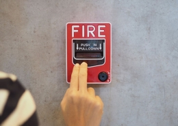 Pose système d'alarme incendie