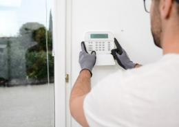 Installation d'alarme de maison