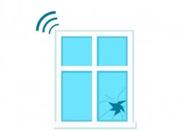 Coût d'un détecteur de bris de vitre
